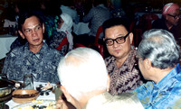 Abdul Wahab and Jamilah Dato' Hussin dinner party