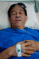 Zainal Othman admitted into hospital