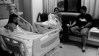 Nur Eryna admitted to Hospital