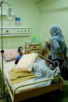 Ayah Cher Hospital Visit