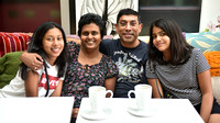 Annual Meetup for Tea with Sharmala and family