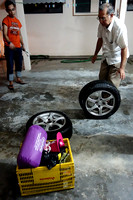 Haniff's Car Tyres Flat