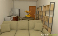 3D Animation Studio Office Renders