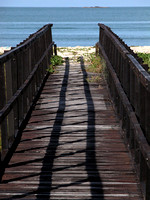 Wooden Pier to the Sea - Path to Paradise