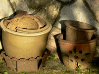 Rustic Pots - Home for Plants and Flowers
