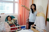 Mak Long Temah admitted in University Hospital