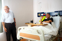 Shahril in Hospital