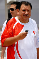 Tan Sri Hamzah's Olympic Torch Run