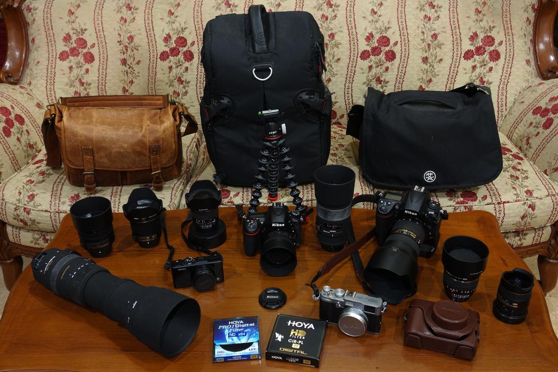 Camera Photographic Set