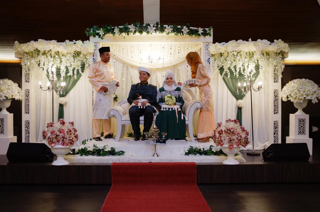 Wedding Nur Alia and Hosni