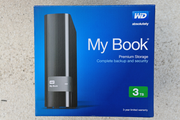 WD My Book 3TB External Harddisk