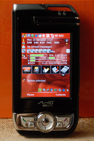 Mio A700 Pdaphone