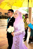 Wedding Farid Ghazali and Nur Amyra
